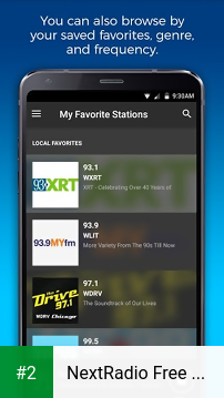 NextRadio Free Live FM Radio apk screenshot 2