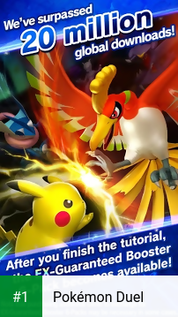 Pokémon Duel app screenshot 1