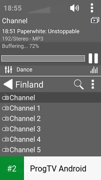 ProgTV Android apk screenshot 2
