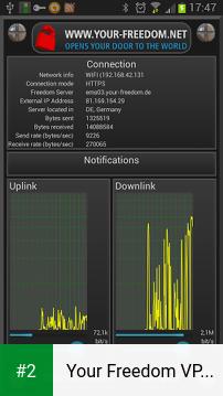 Your Freedom VPN Client apk screenshot 2