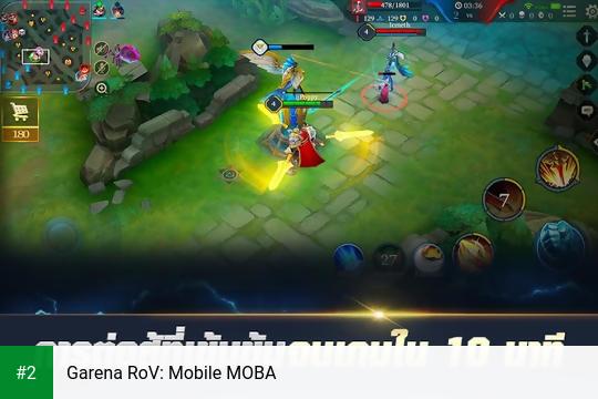 Garena RoV: Mobile MOBA apk screenshot 2