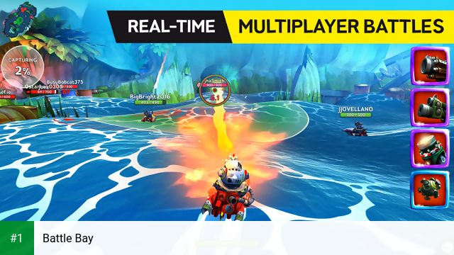 Battle Bay app screenshot 1