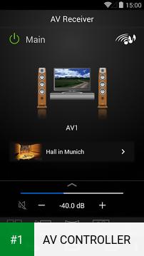 AV CONTROLLER app screenshot 1