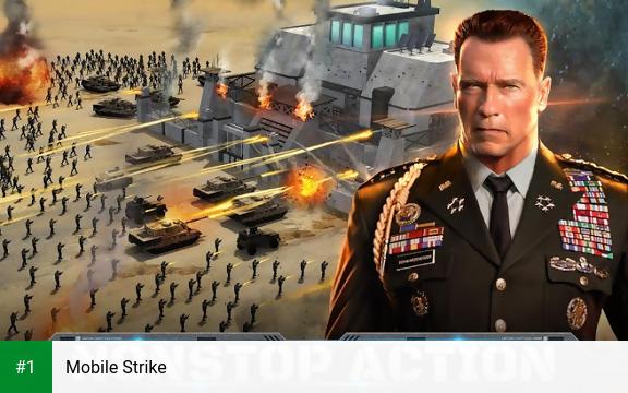 Mobile Strike app screenshot 1