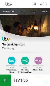 ITV Hub app screenshot 1