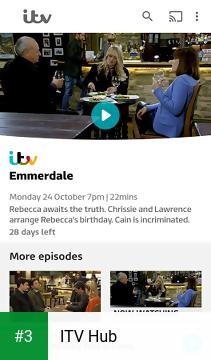 ITV Hub app screenshot 3