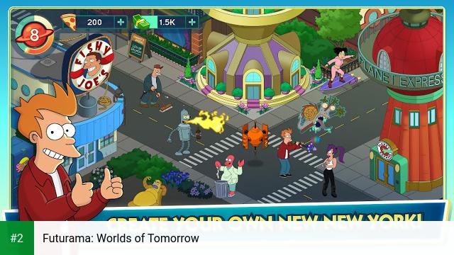 Futurama: Worlds of Tomorrow apk screenshot 2