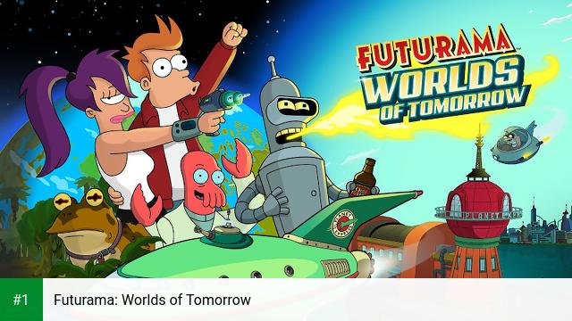 Futurama: Worlds of Tomorrow app screenshot 1