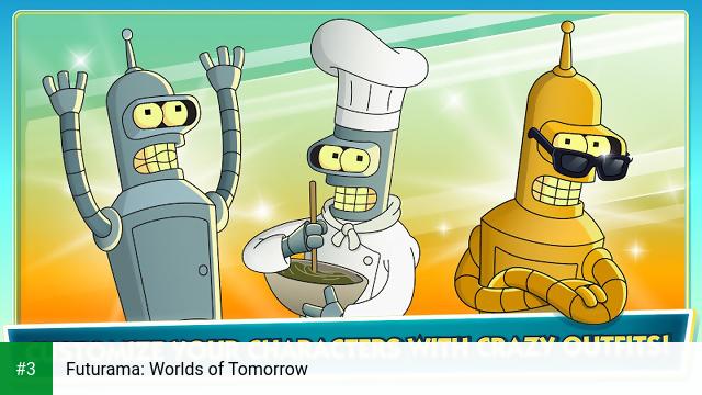 Futurama: Worlds of Tomorrow app screenshot 3