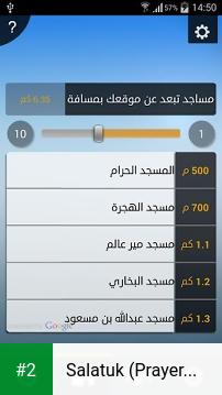 Salatuk (Prayer time) apk screenshot 2