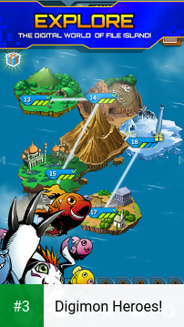 Digimon Heroes! app screenshot 3