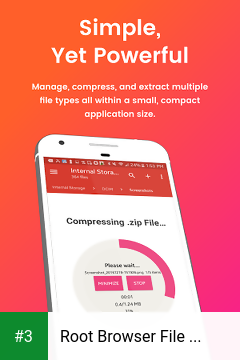Root Browser File Manager app screenshot 3