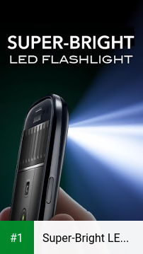 Super-Bright LED Flashlight app screenshot 1