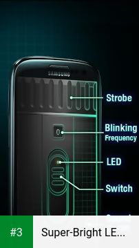 Super-Bright LED Flashlight app screenshot 3