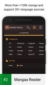 Mangaa Reader apk screenshot 2