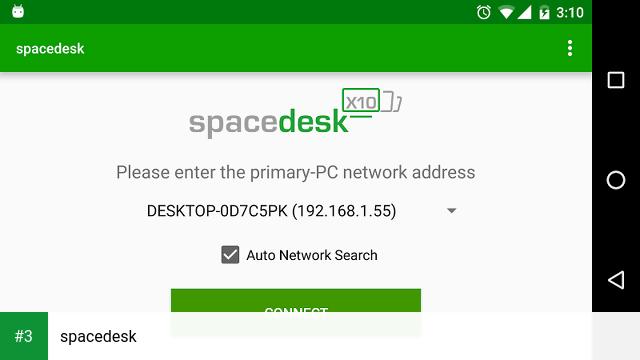 spacedesk app screenshot 3