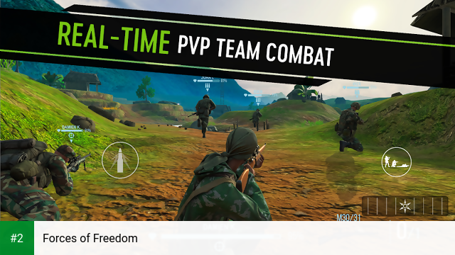 Forces of Freedom apk screenshot 2