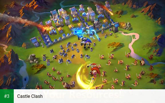 Castle Clash app screenshot 3