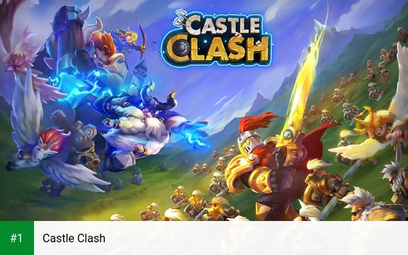 Castle Clash app screenshot 1