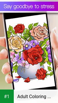 Adult Coloring Book Premium app screenshot 1