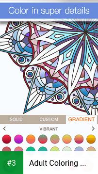 Adult Coloring Book Premium app screenshot 3