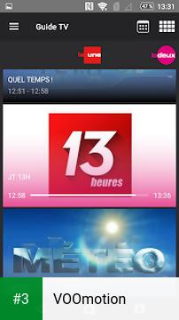 VOOmotion app screenshot 3
