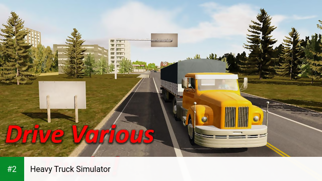 Heavy Truck Simulator apk screenshot 2