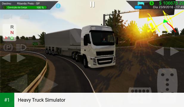 Heavy Truck Simulator app screenshot 1