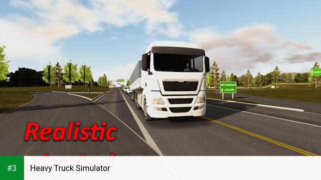 Heavy Truck Simulator app screenshot 3