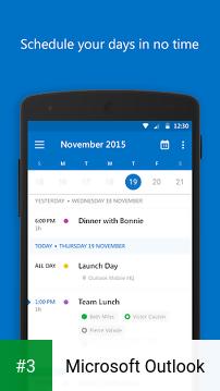 Microsoft Outlook app screenshot 3