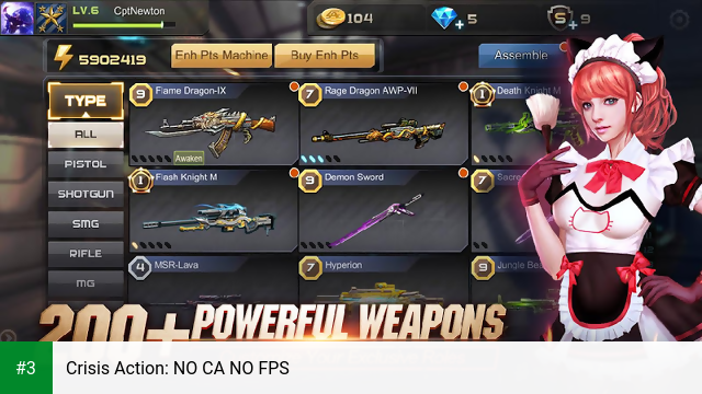 Crisis Action: NO CA NO FPS app screenshot 3
