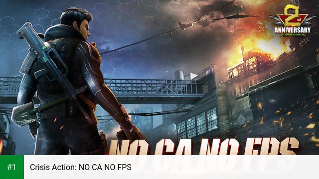 Crisis Action: NO CA NO FPS app screenshot 1