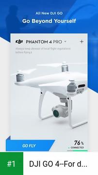 DJI GO 4--For drones since P4 app screenshot 1