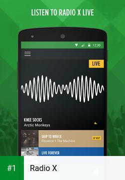 Radio X app screenshot 1