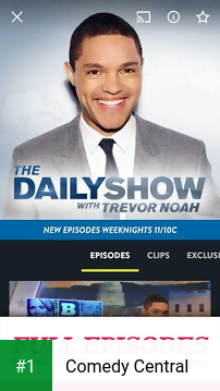 Comedy Central app screenshot 1