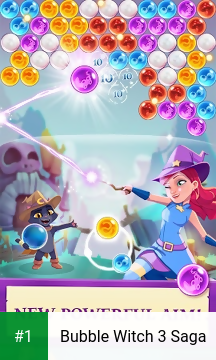 Bubble Witch 3 Saga app screenshot 1