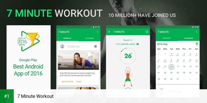 7 Minute Workout app screenshot 1