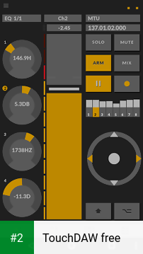 TouchDAW free apk screenshot 2