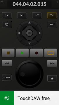 TouchDAW free app screenshot 3