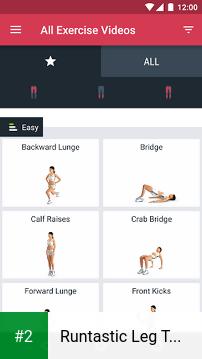 Runtastic Leg Trainer apk screenshot 2