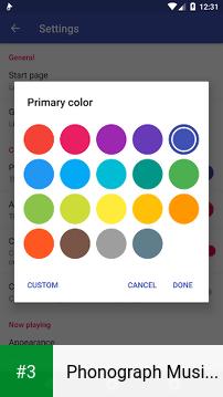 Phonograph Music Player app screenshot 3