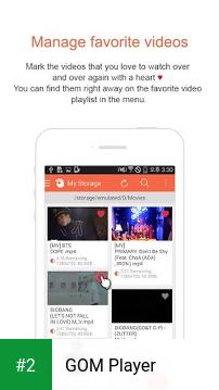 GOM Player apk screenshot 2