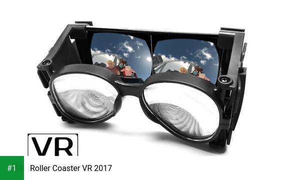 Roller Coaster VR 2017 app screenshot 1
