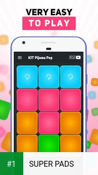 SUPER PADS app screenshot 1