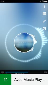 Avee Music Player (Pro) app screenshot 1