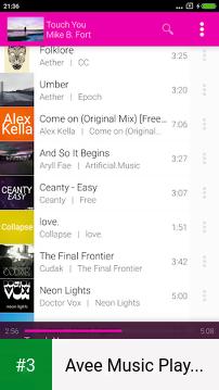 Avee Music Player (Pro) app screenshot 3