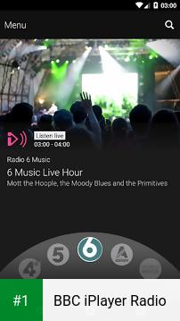 BBC iPlayer Radio app screenshot 1