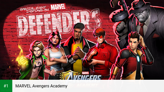 MARVEL Avengers Academy app screenshot 1