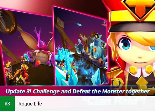 Rogue Life app screenshot 3