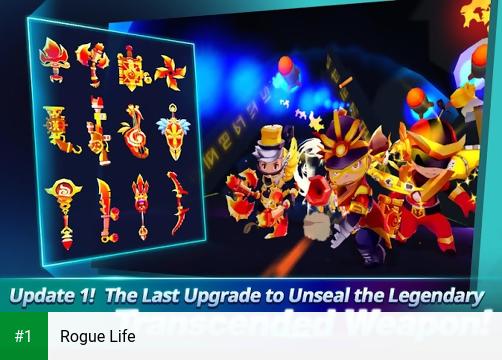 Rogue Life app screenshot 1